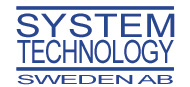 Logo för System Technology Sweden AB