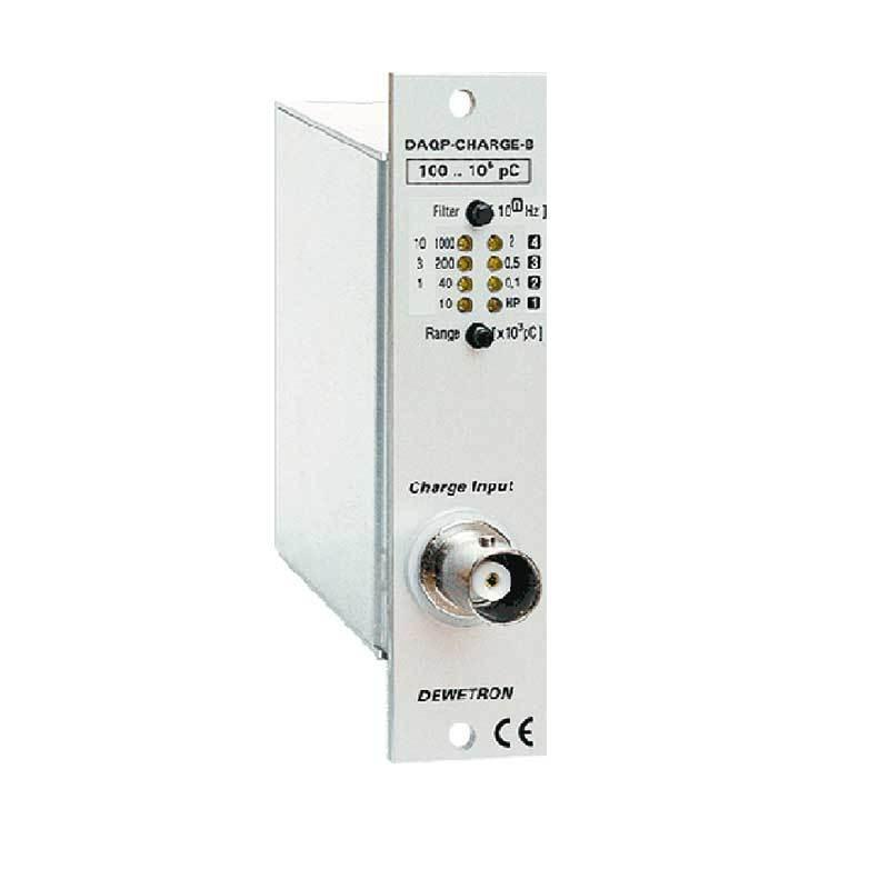 Laddningsförstärkare för statiska och dynamiska signaler