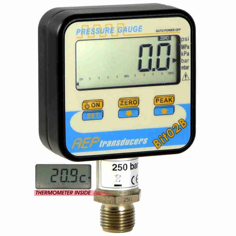 Digital manometer Bit02B